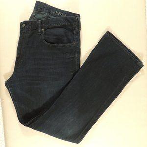 Gap Men's Blue Jeans Bootcut Size 36/32